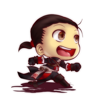 [Fan-art] Assassin's creed: Shay [CHIBI] by aude-javel