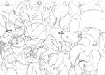 .A Sonic Christmas. 2013 by Narcotize-Nagini