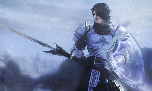 Guild Wars 2 - The Winter Crusader. by RyanReos