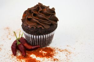 Cayenne Pepper Chocolate Cupcake by FightTheAssimilation