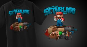 Sethbling Pile Of Bodies - T-Shirt by FinsGraphics