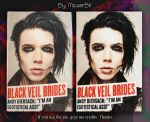 Action - Andy Biersack 13 by MisserBK