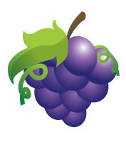Vectored Grapes by Warriorpoet2006