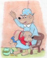Berenstain Bears Spanking by Krypto451