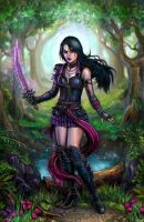 Mina's Raven by SirTiefling