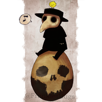 The Plague Doctor II by FrankiesBugs
