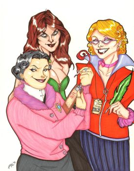 HP: The Girls You Love To Hate by PandorasPride