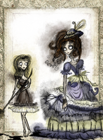 Cosette and the Innkeeper's Wife by Mrs-Lovett-da-Pirate
