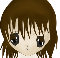 Anime Girl - Coloured by Lewis-H