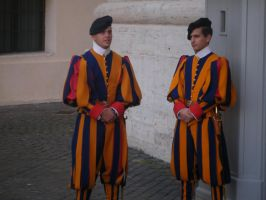 Swiss Guards by MetalShadowOverlord