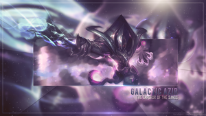 [League Of Legends] Galactic Azir by SonasGraphics