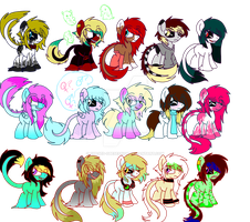 Breedie adopts :OPEN: by Cursed-Obesession