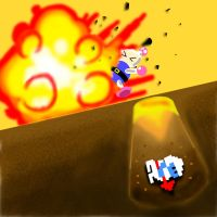 Dig Dug VS Bomberman by Apprehender
