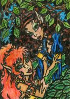 Ember and Leetah ATC :Finished by alyssakay