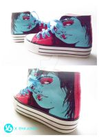 Viagraphics X Erik Jones Chucks by Viagraphics