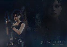 Jill Valentine Wallpaper by BriellaLove