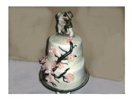 My First Wedding Cake by Artismyworld