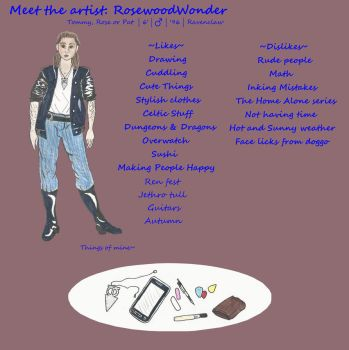 Meet the Artist by RosewoodWonder