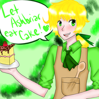 Let Ashbriar Eat Cake by Fizzy-Drink
