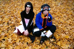 Obito and Rin - Be serious for once.. by Millahwood