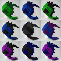 Dragon hat - color thumbnails by eitanya