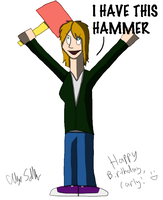 CAN HAS HAMMER by SquareZer0
