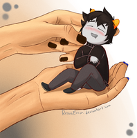 Small Karkat by RezusError