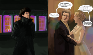Sherlock Holmes is not alone - BBC Sherlock by DreamyArtistRoxy3