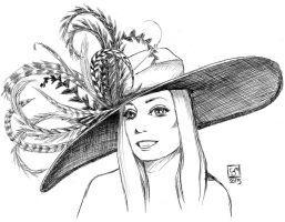 Kentucky Derby Hat by The-Tinidril
