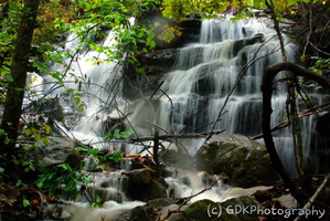 Ponca Waterfall by GDKPhotography