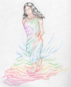 Iris, Greek Goddess of the Rainbow