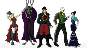 Victorian Superman Crew by THUNDRkitty