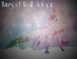 (2 points)Winged wolf adopt by AngeloSnowpaw
