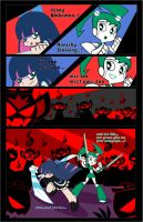 JENNY AND STOCKING by CrimsonFace