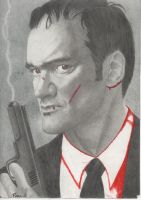 Quentin Tarantino by suki-rose77