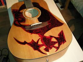 Guitar Art- S and P: Study 4 by EndsOfInvention