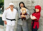 Ranma Group at Fanime by seifer-sama