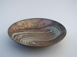 Large Shallow Bowl by knivesandroses