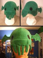 Commission: Cthulhu Hat by Red-Flare