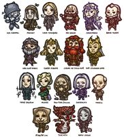 The Elder Scrolls Online - Chibi Set 1 by yuikami-da