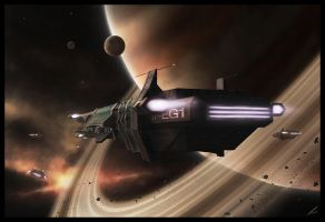 07-EG1 - Spaceship by ehaft