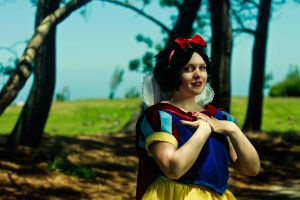 Snow White in the Forest by RodneyJGPhotos