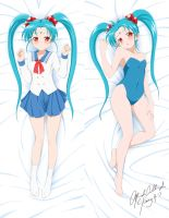 Dakimakura Commission: Lord-of-Hell-73 (Sasami) by kimmy77