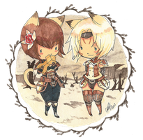 Minis 't' Set 3 .:Commission:. by GYRHS