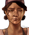 clementine season 3 (transparent) by lullalay