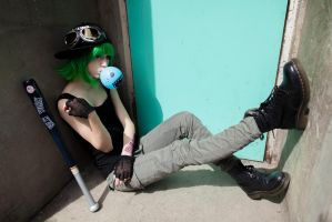 Panda Hero by dnbly