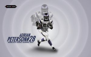 Adrian Peterson by Sanoinoi