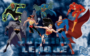 Justice League PC Desktop by Kal-Dusty