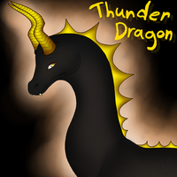 Thunder Dragon by Drawotion