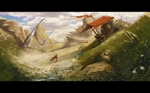 env_speedpaint by Nemo-Li